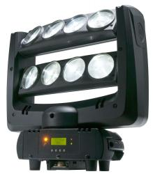 AMERICAN DJ Crazy 8 8-Zone Moving Head Light Fixture Effect Crazy 8