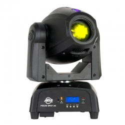 AMERICAN DJ FOCUS SPOT 2X 100W LED Moving Head with 3W UV LED FOCUS SPOT 2X