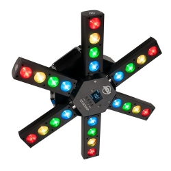 AMERICAN DJ ADJ STARSHIP Classic LED Six Arm Centerpiece Effect STARSHIP