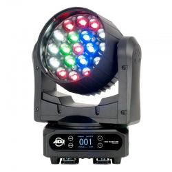 ADJ AMERICAN DJ VIZI WASH Z19 380 Watt LED Moving Head Wash Fixture VIZI WASH Z19