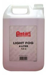 ANTARI FLR-4 Red Low Lying Fog Fluid Liquid 4 Liter FLR-4