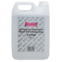 ANTARI FLC-4 - 4 Liter Water Based Fast Dissipating Fog Fluid (FLC-4) FLC-4 LITER FAST DISSAPATING FLUID