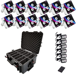 APE LABS MAXI 12 Pack Bundle with PSU and Watertight Rolling Case with Handle 12 MAXI Bundle Watertight Case