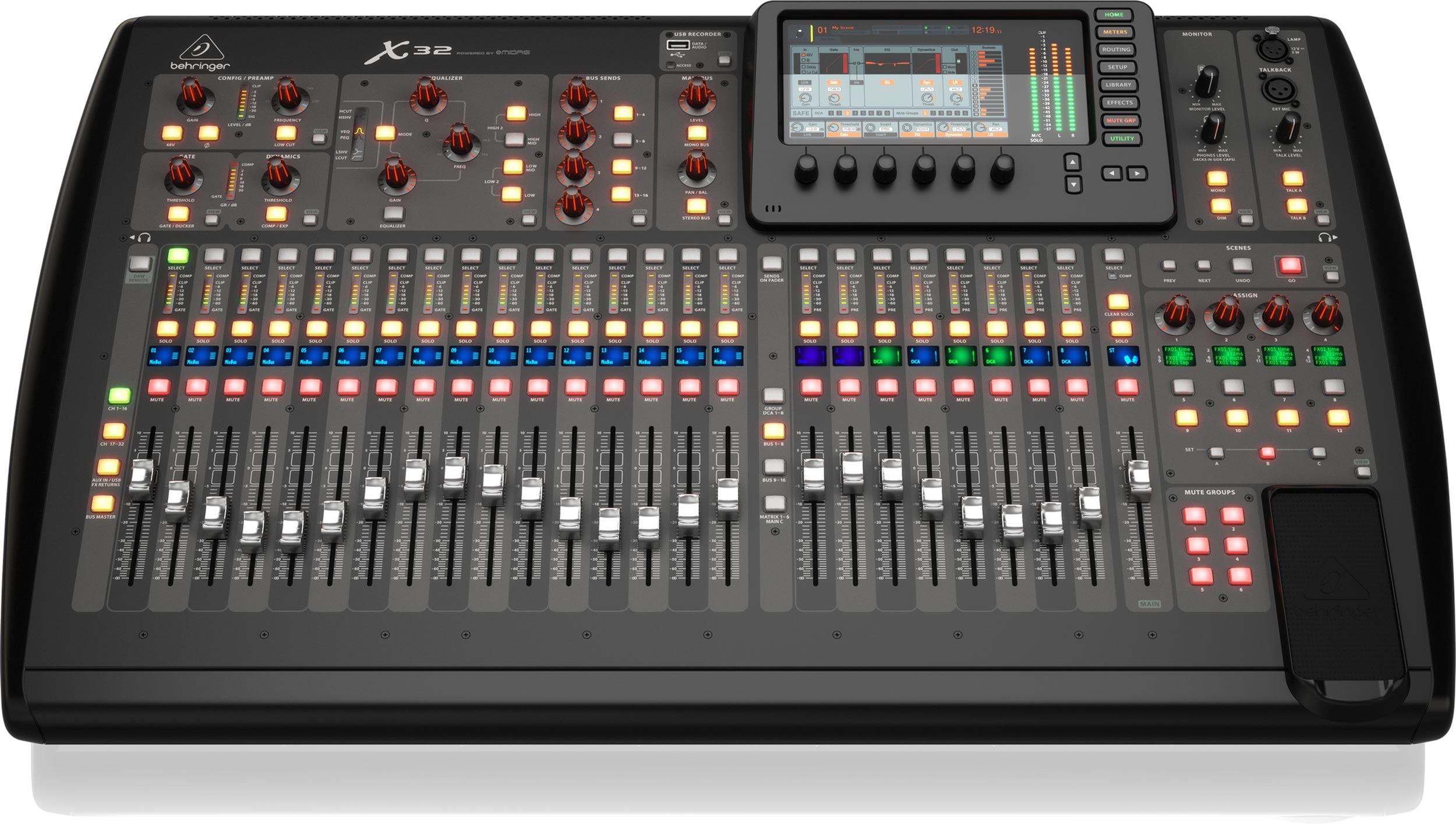 behringer x32 40 input 25 bus digital mixing console agiprodj. Black Bedroom Furniture Sets. Home Design Ideas