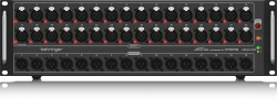 BEHRINGER S32 Digital Snake I-O Box with 32 Remote-Controllable MIDAS Preamps 16 Outputs S32