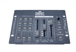 CHAUVET DJ Obey 3 Compact DMX-512 Controller for RGB LED Fixtures Obey 3