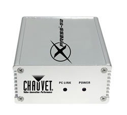 CHAUVET DJ Xpress-512 DMX USB Interface Lighting Controller Xpress 512