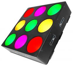 CHAUVET DJ CORE 3x3 LED Wash Light with Pixel Mapping Effects CORE3X3