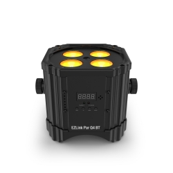 CHAUVET DJ EZLINK PAR Q4 BT 4x3W RGBA LED Battery-Powered Wireless Quad-Color Par Fixture EZLINK PAR Q4 BT