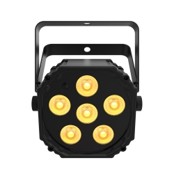CHAUVET DJ EZLINK PAR Q6 BT 6x3W RGBA LED Battery-Powered Wireless Quad-Color Par Fixture EZLINK PAR Q6 BT