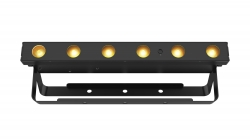 CHAUVET DJ EZLINK STRIP Q6 BT 6x3W RGBA LED Battery-Powered Wireless Quad-Color Bar Fixture EZLINK STRIP Q6 BT