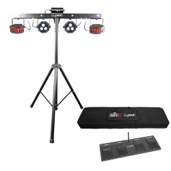 CHAUVET DJ GigBAR2 Ultimate pack-n-go 4-in-1 lighting system GIGBAR2