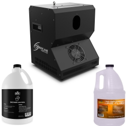 CHAUVET DJ HURRICANE BUBBLE HAZE + FREE FLUIDS BUNDLE HURRICANE BUBBLE HAZE BUNDLE