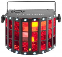 Chauvet DJ Kinta FX 3-in-one Effect with quad color beams, red/green laser & white SMD strobes KINTA FX