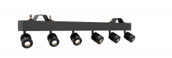 CHAUVET DJ PINSPOT BAR High-Output Bar 6-Independent LED Pinspots PINSPOT BAR