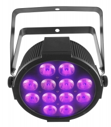 CHAUVET DJ SlimPAR QUV12 USB RGB+UV Quad Color LED Wash Light SLIMPAR QUV 12 USB