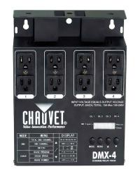 CHAUVET DJ DMX-4 Four Channel DMX Switch/Dimmer Pack DMX-4