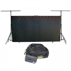 CHAUVET DJ MotionDrape LED Backdrop with Truss Frame MOTIONDRAPELEDPLUSTRUSS