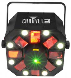 CHAUVET DJ SWARM 5 FX RGBAW Rotating Derby with Strobe and Laser SWARM 5 FX