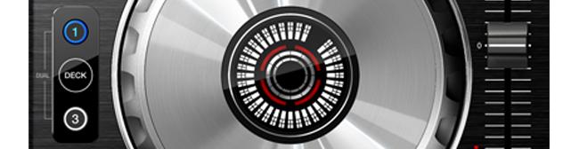 DDJ-SX2 in content jog wheel