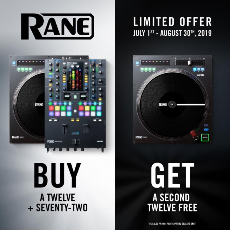 Rane 12 Limited Offer - Get a Second Twelve Free