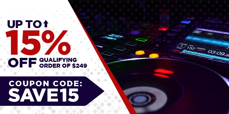 New DJ Gear Sale 2020 - Save up to 15% on your dj equipment