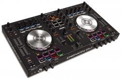 DENON DJ MC4000 2-Deck Controller for Serato DJ Intro - TRAKTOR 2 - Virtual DJ 8 MC4000