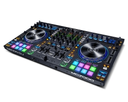 DENON DJ MC7000 4 Channel Serato DJ Controller with Dual USB Interfaces MC7000
