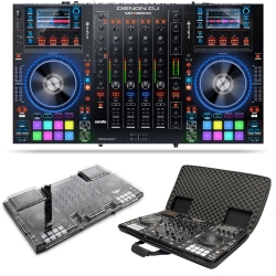 DENON DJ MCX8000 Bundle with Controller for Serato DJ + FREE Magma CTRL Case and Decksaver Cover MCX8000 BUNDLE
