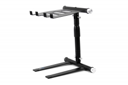 DIGISTAND LP01 Folding DJ Laptop Stand - Black LP01 Folding Laptop Stand - Black