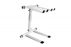 DIGISTAND LP02 Folding DJ Laptop Stand - White LP02 Folding DJ Laptop Stand - White
