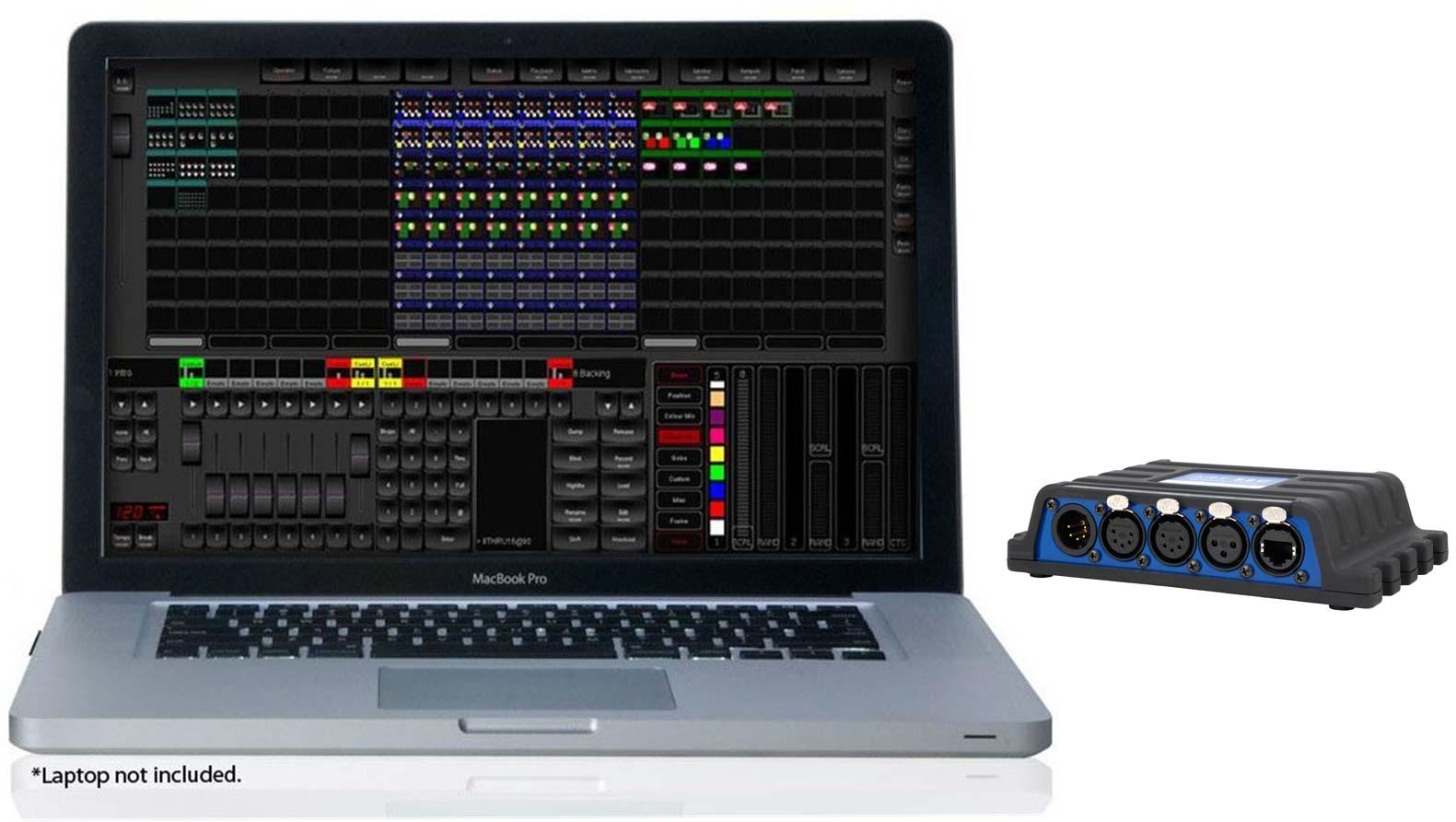 ELATION Emulation Pro DMX Lighting Control Software PC/MAC Gallery