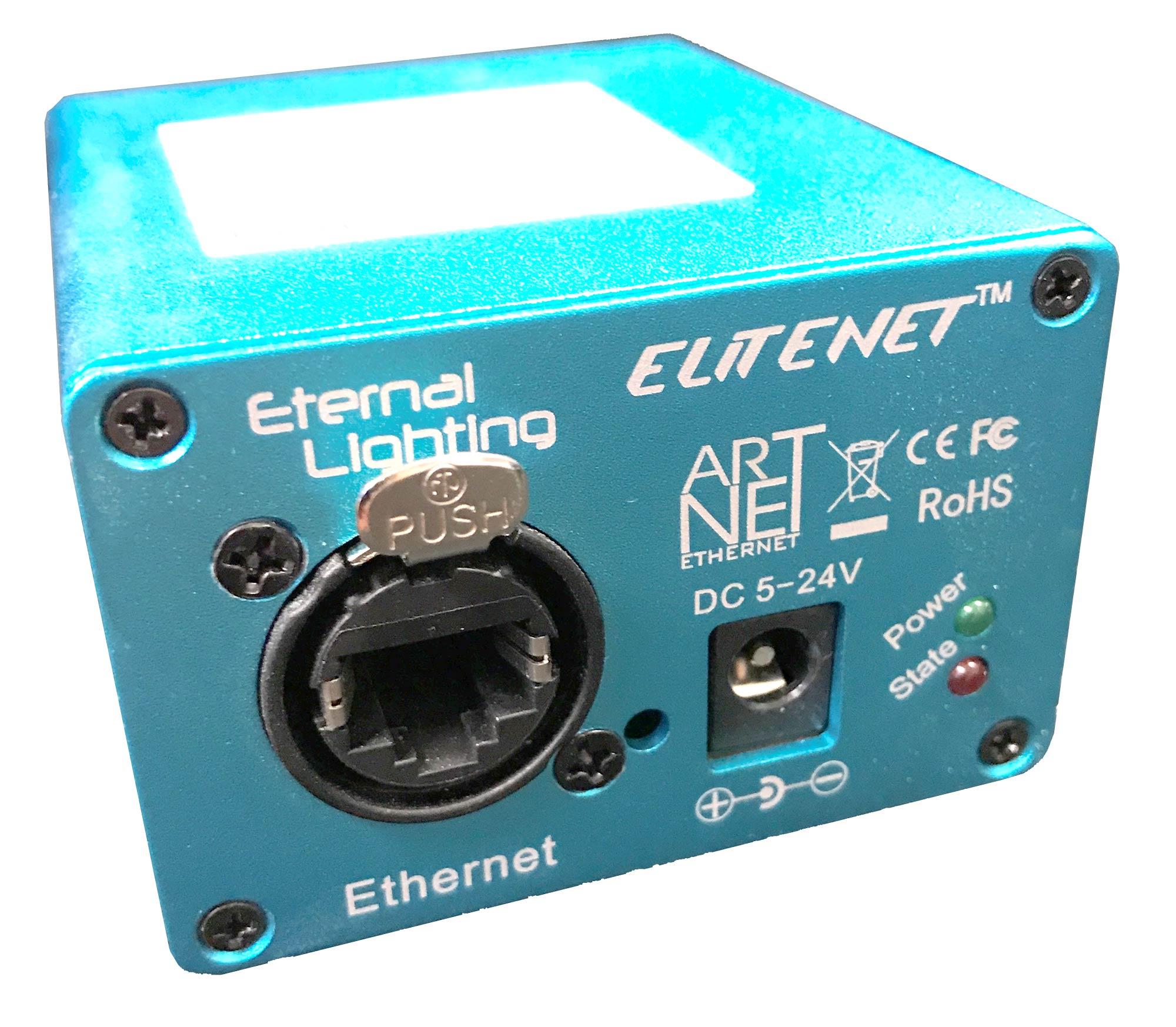 ETERNAL LIGHTING EliteNET ArtNet Ethernet to DMX Converter