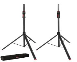 GATOR CASES GFW-ID-SPKRSET Frameworks ID Series Adjustable Speaker Stand (Set of 2) + Bag ID SPEAKER STAND SET w/ BAG