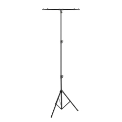 GRAVITY GLSTBTV28 Large Lighting Stand with T-Bar GLSTBTV28