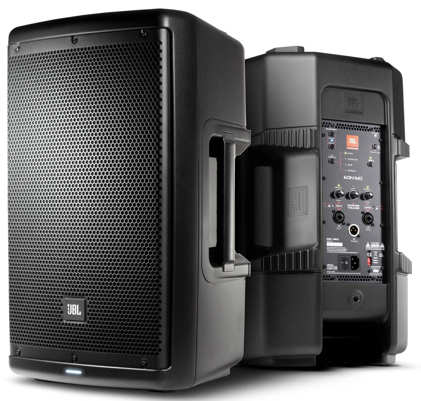jbl eon610 10 two way multipurpose self powered loudspeaker agiprodj. Black Bedroom Furniture Sets. Home Design Ideas