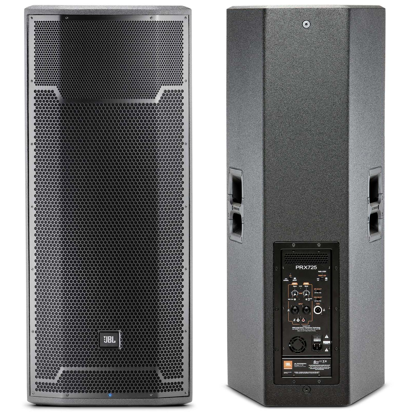 jbl prx725 dual 15 inch 2 way 1500 watt powered active speaker agiprodj. Black Bedroom Furniture Sets. Home Design Ideas