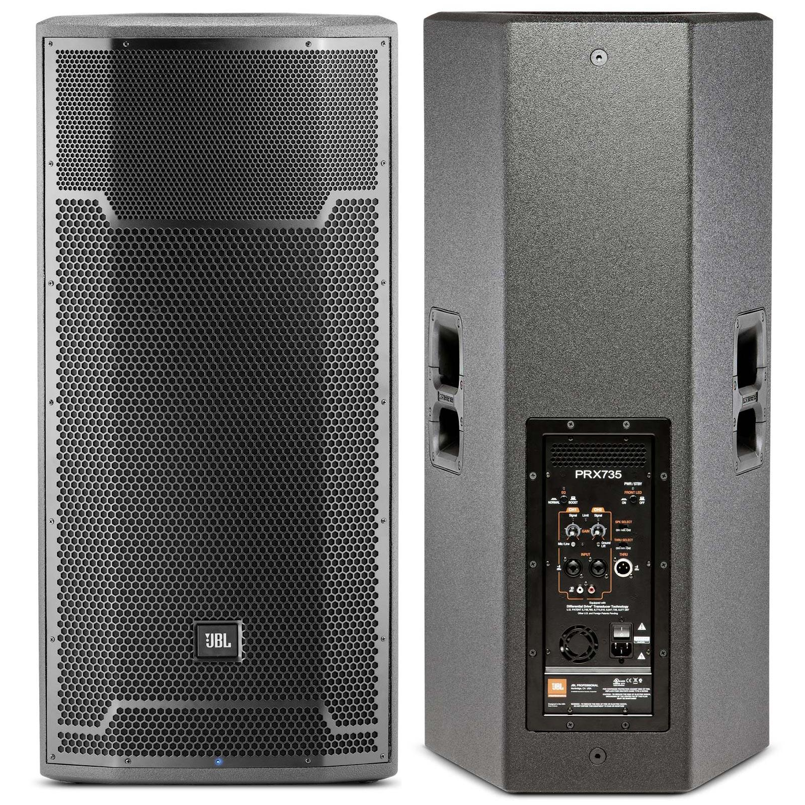 jbl prx735 15 inch 3 way 1500 watt powered active speaker agiprodj. Black Bedroom Furniture Sets. Home Design Ideas