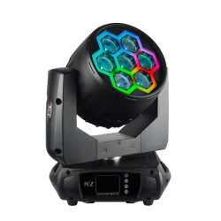 JMAZ LIGHTING PIXL TRON 740Z 7 x 40W RGBW LED + RGB LED Neon Look Light Candy PIXL TRON 740Z