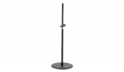 "K&M 26735 Round Base 70"" Speaker Stand - Black 26735 ROUND BASE"