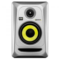 "KRK RP4G3S Silver ROKIT 4 G3 4"" Powered Studio Monitor Generation 3 ROKIT4 G3 SILVER"