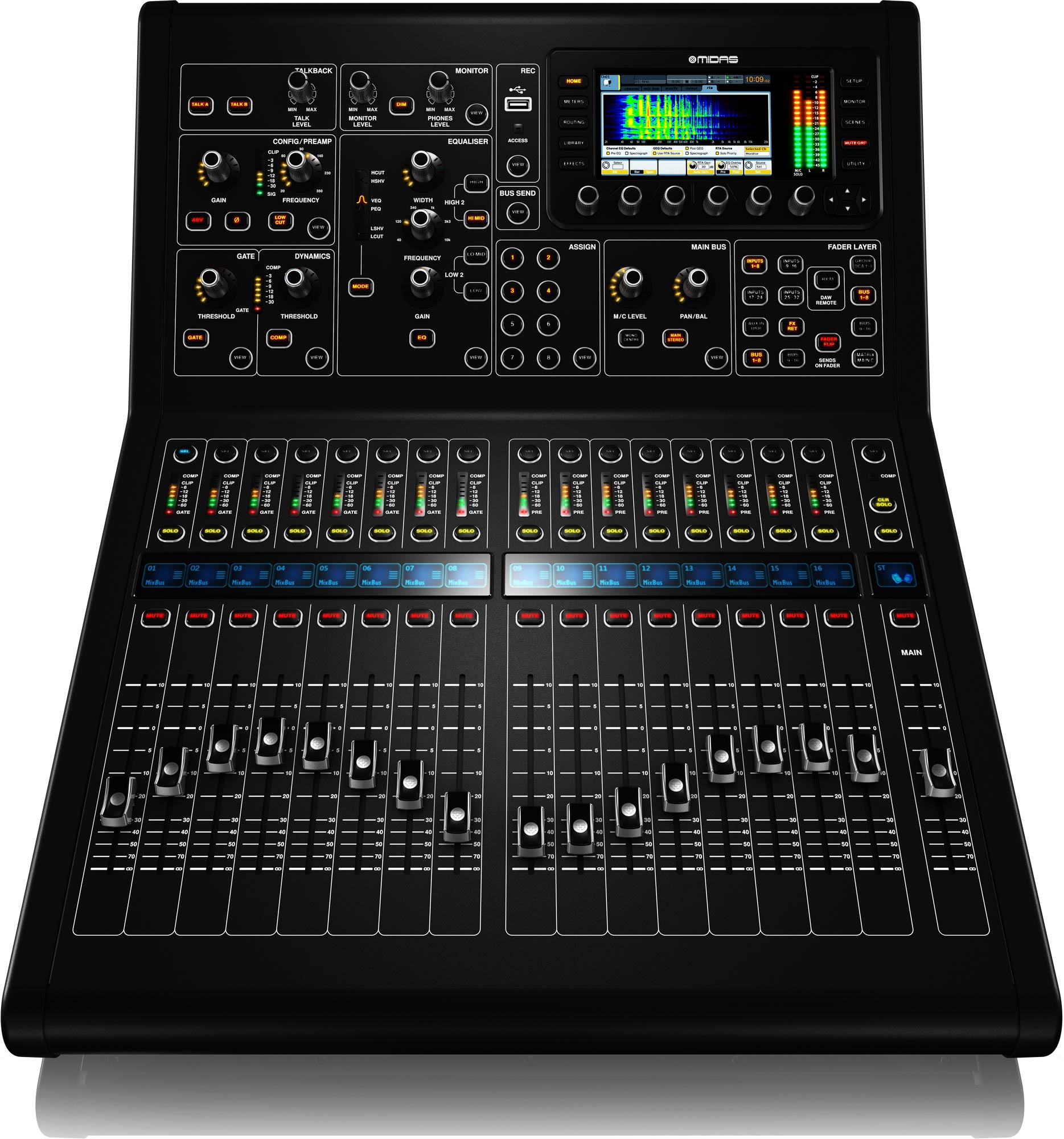 Midas M32r Live 40 Channel Digital Mixing Console Agiprodj