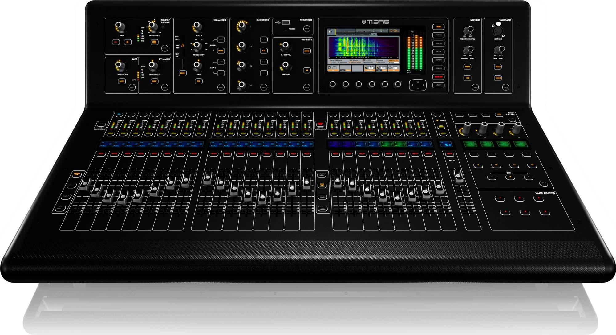 midas m32 32 channel digital console for live and studio m32 ip agiprodj. Black Bedroom Furniture Sets. Home Design Ideas