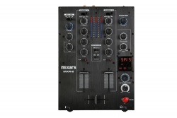 MIXARS MXR-2 2-Channel Mixer with Sound Card and Effects MXR-2 2-CHANNEL MIXER