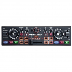 NUMARK DJ2GO2 2-Channel USB DJ Software Controller with Audio Interface DJ2GO2