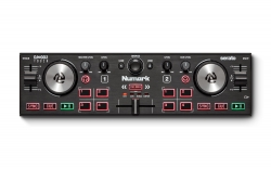 NUMARK DJ2GO2TOUCH Pocket DJ Controller with Capacitive Touch Jog Wheels DJ2GO2TOUCH
