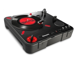 NUMARK PT01 SCRATCH Portable Turntable with Crossfader Switch PT01 SCRATCH