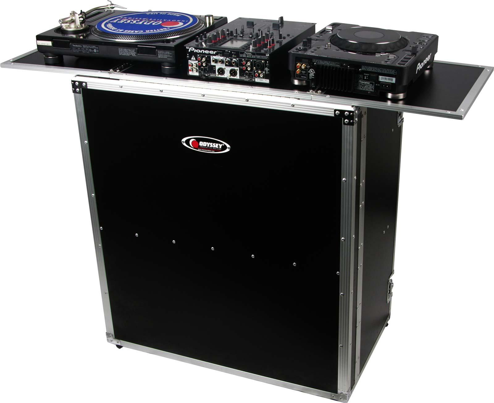 dj table height