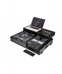 ODYSSEY FZGS1RA1272WBL Black Compact Rane DJ Coffin With Wheels FZGS1RA1272WBL