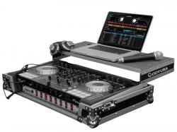 "ODYSSEY FZGSPIDDJSX2 Flight Zone Glide Case with 19"" Rackmount for Pioneer DDJ-SX and SX2"